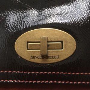 Hayden and Harnett Bags - Hayden Harnett Suede/Leather 2 strap shoulder bag